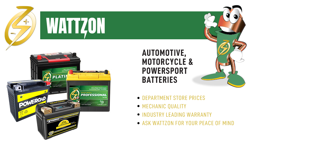 Automotive Batteries and Motorcycle Batteries